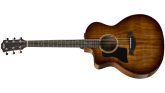 Taylor Guitars - Grand Auditorium All-Koa Solid-Top Acoustic/Electric Guitar - Left Handed