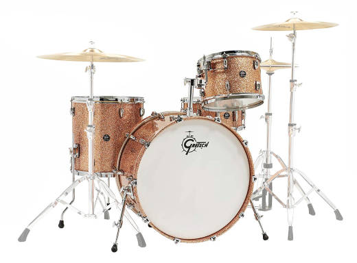 Renown 2 4-Piece Shell Pack (13, 16, 24, 14 Snare) - Copper Sparkle