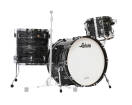 Ludwig Drums - Classic Maple Fab 22 3-Piece Shell Pack - Vintage Black Oyster