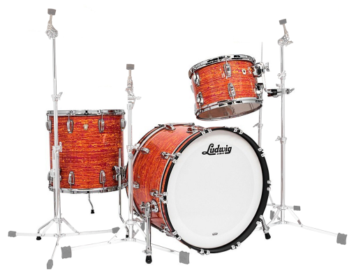 Classic Maple Fab 22 3-Piece Shell Pack - Mod Orange
