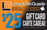 Long & McQuade - $25 Gift Card
