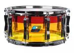 Ludwig Drums - Vistalite 6.5x14 Snare Drum - Tequila Sunrise