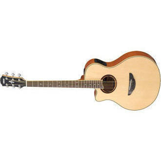 yamaha apx700ii acoustic electric natural in left handed long mcquade musical instruments. Black Bedroom Furniture Sets. Home Design Ideas