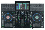 Denon - Prime 4 Standalone 4-Deck DJ System with 10 Touchscreen