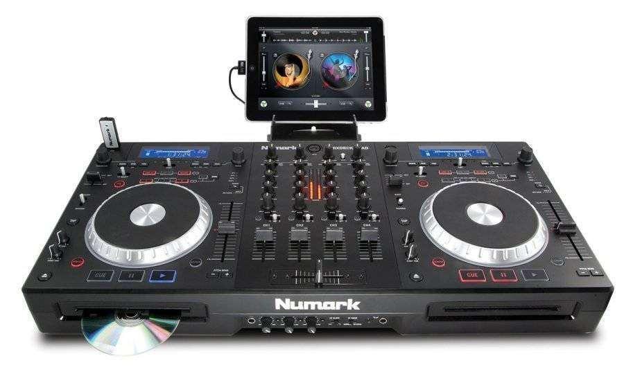 Numark 4 Channel Universal Dj System Long Amp Mcquade