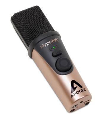 HypeMic - USB Microphone with Headphone Output and Studio Quality Compression