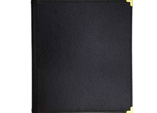 Band and Orchestra Folder - Leatherette - 2 Pencil Holders/Card Holder