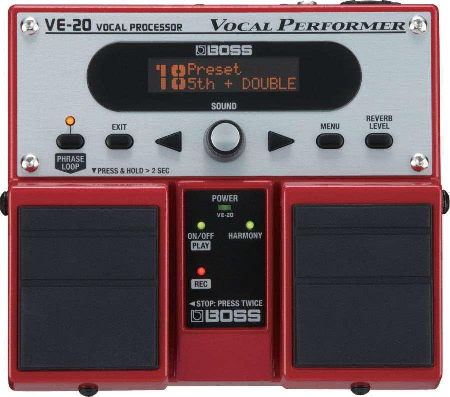 boss ve 20 vocal processor long mcquade musical instruments. Black Bedroom Furniture Sets. Home Design Ideas