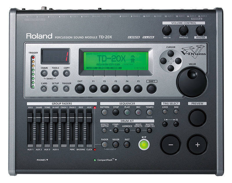 roland td 20x sound module long mcquade musical instruments. Black Bedroom Furniture Sets. Home Design Ideas