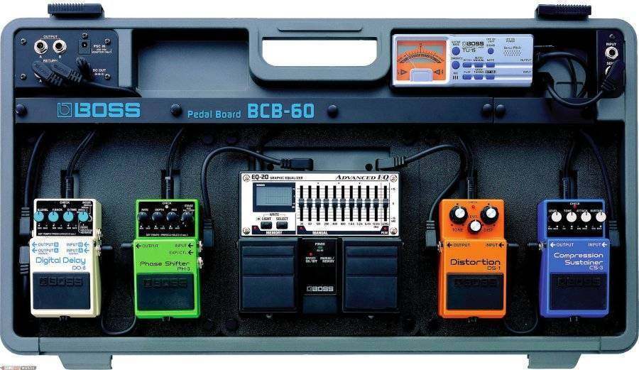 boss bcb 60 powered pedal board long mcquade musical instruments. Black Bedroom Furniture Sets. Home Design Ideas