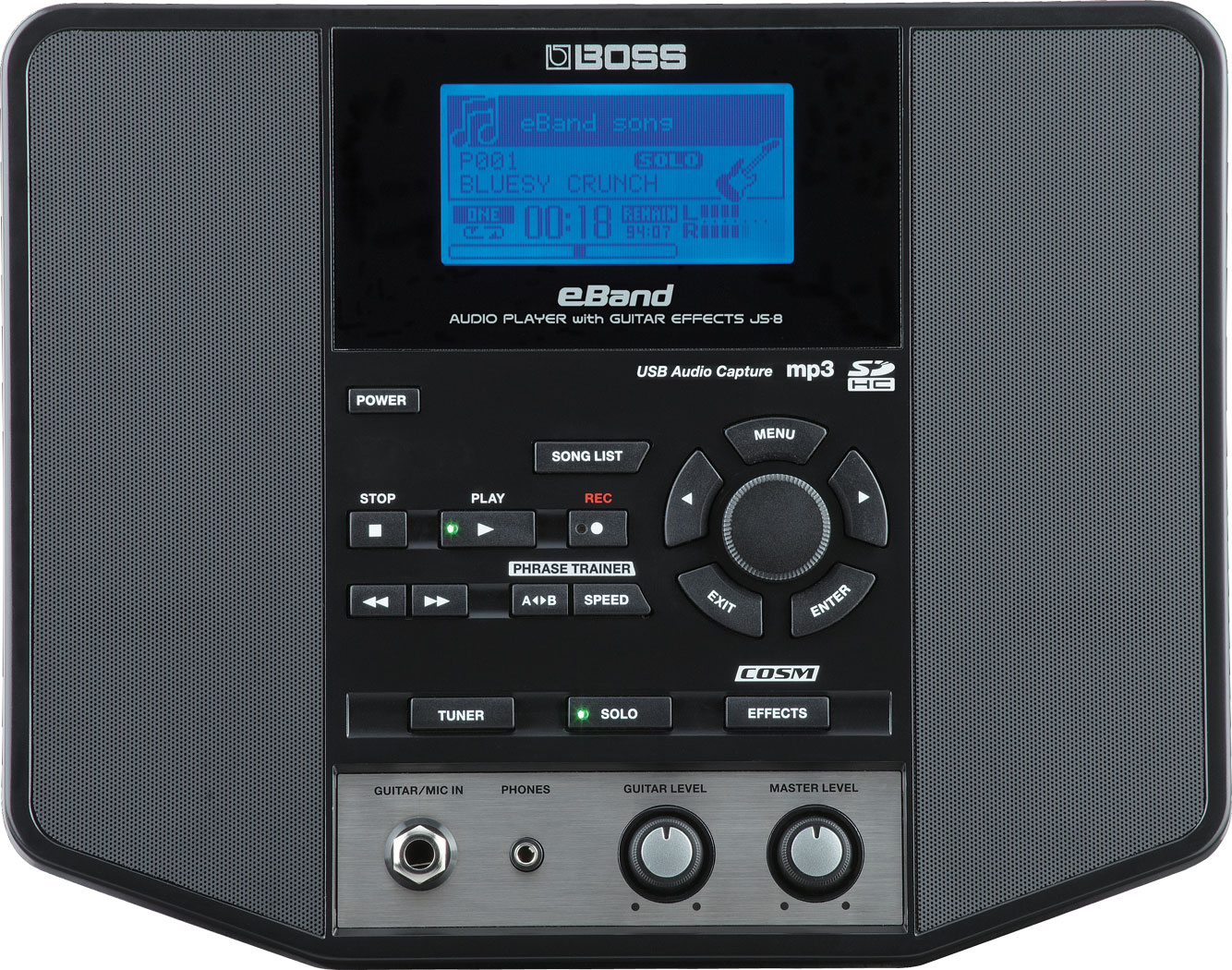 Boss eband js-8 audio player with guitar multi effects | reverb.
