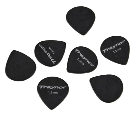 Tortex Jazz Guitar Picks Pack of 12 - 1.5mm