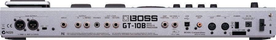 boss gt10b bass effects processor long mcquade musical instruments. Black Bedroom Furniture Sets. Home Design Ideas