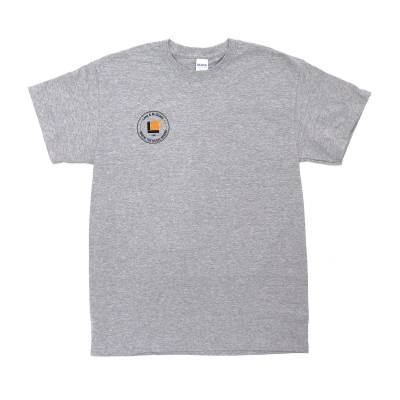 Where the Music Begins T-Shirt, Grey - Large