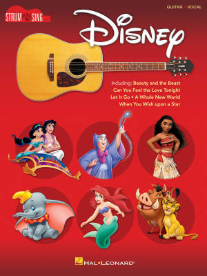 Disney: Strum & Sing Guitar - Book