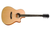 LV-03RE Recording Series Spruce/Rosewood Acoustic Guitar w/Cutaway & Electronics