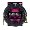Ernie Ball - 10 Straight/Angle Braided Cable - Black