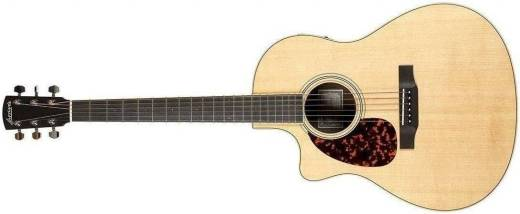 LV-03RE Left-Handed Spruce/Rosewood Acoustic Guitar w/ Cutaway