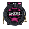 Ernie Ball - 18 Straight/Angle Braided Cable - Black