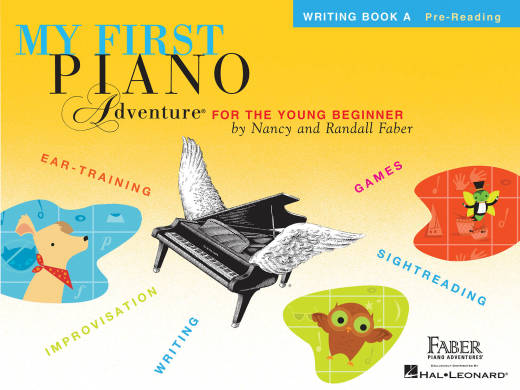 My First Piano Adventure - Writing Book A Pre-Reading - Faber - Piano - Book