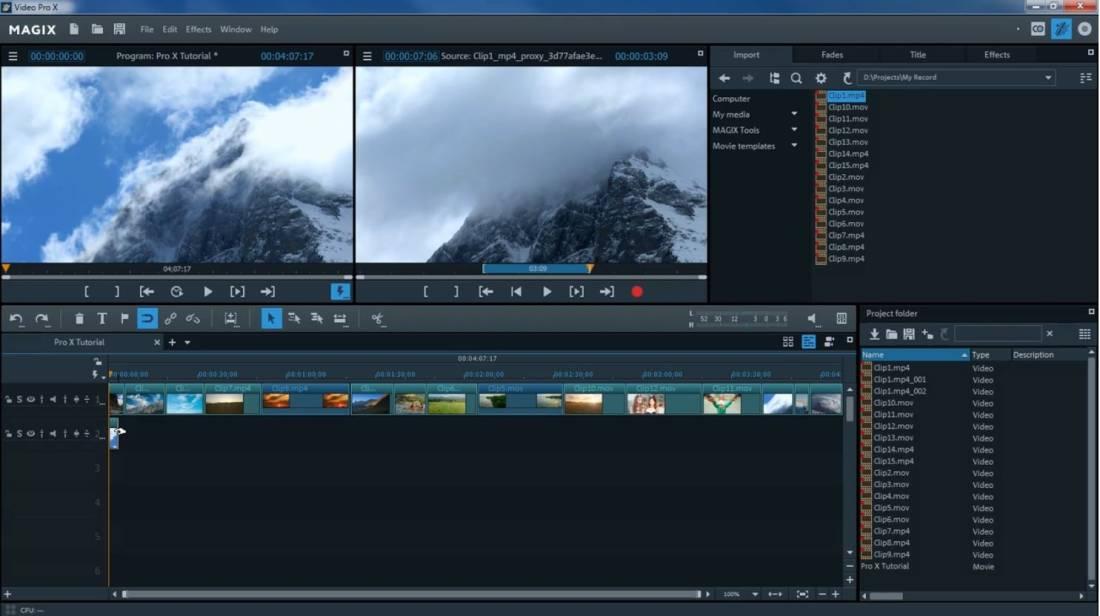 Magix Software Video Pro X 10 Download