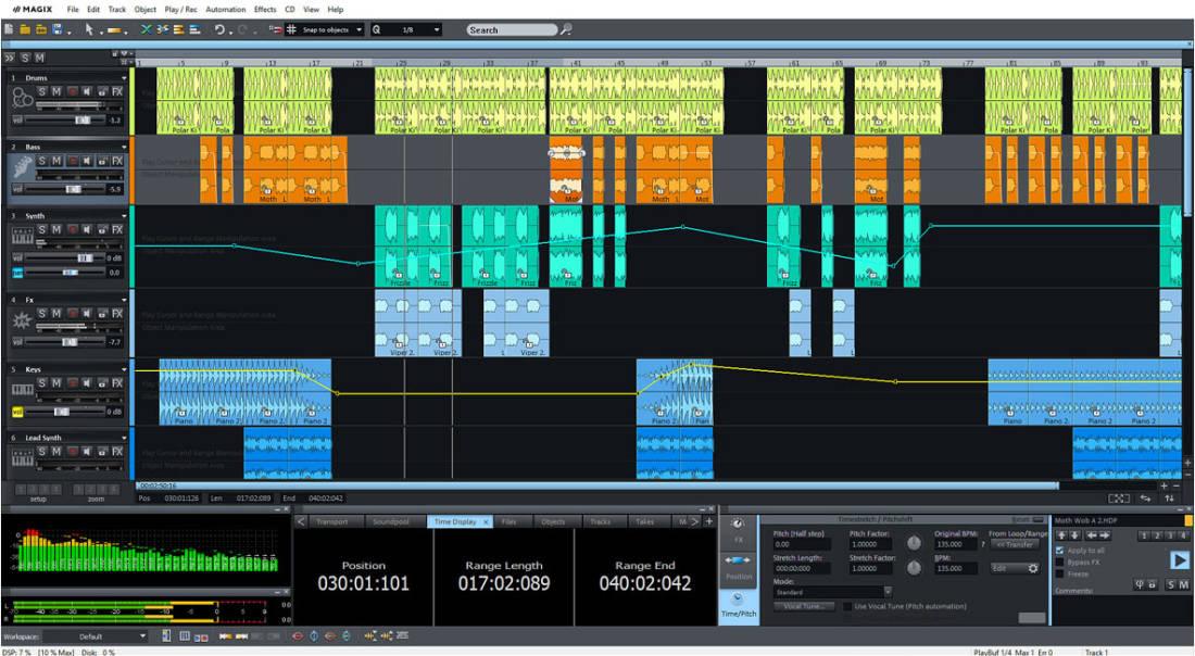 Magix Software Samplitude Music Studio 2019 - Download