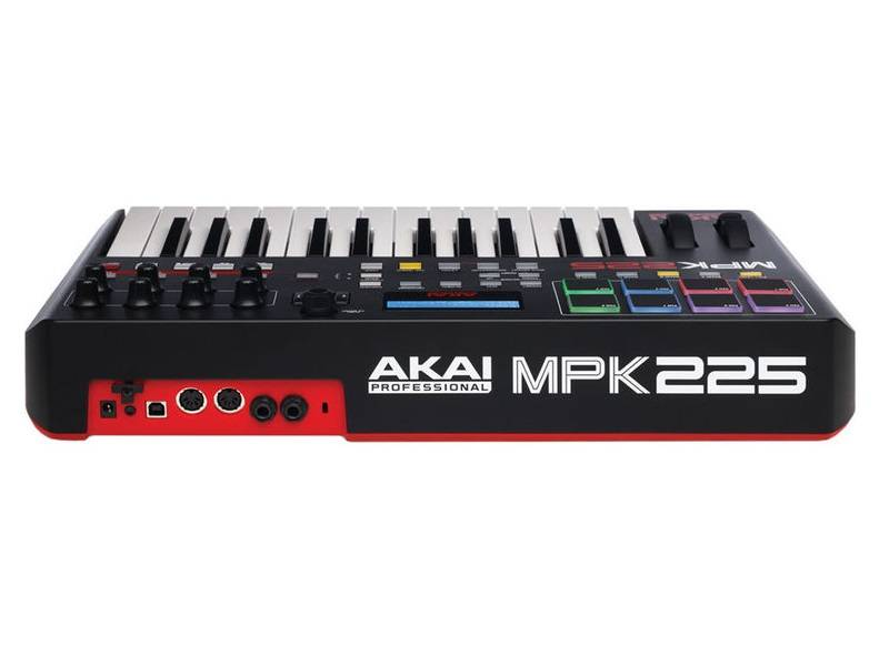 akai mpk225 25 key semi weighted keyboard controller long mcquade musical instruments. Black Bedroom Furniture Sets. Home Design Ideas