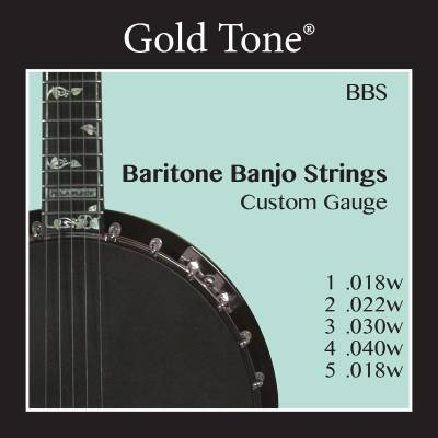 Custom Gauge Baritone Banjo Strings