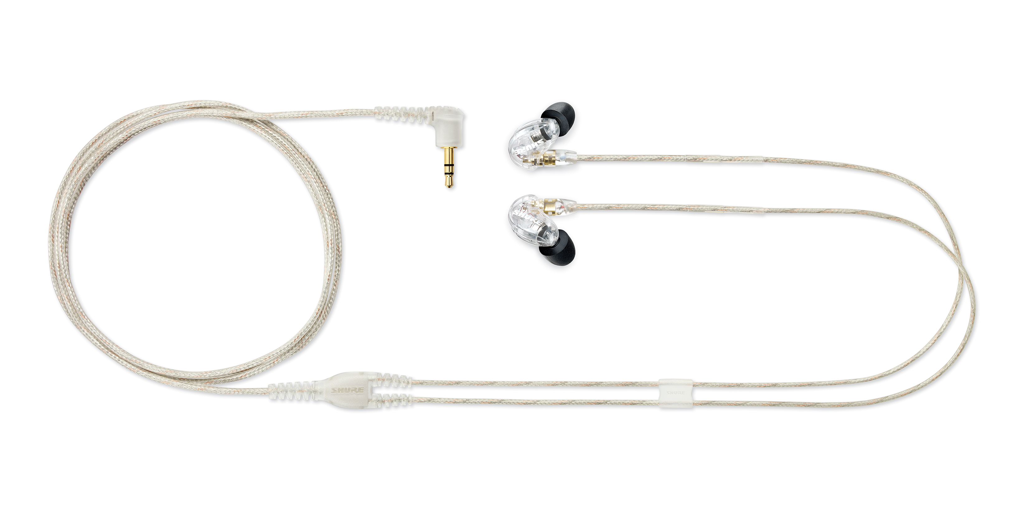8bd60774f Shure SE215 - Sound Isolating Earphones - Clear - Long   McQuade ...