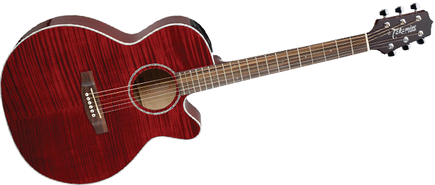 takamine eg440cstry g series nex acoustic electric red long mcquade musical instruments. Black Bedroom Furniture Sets. Home Design Ideas