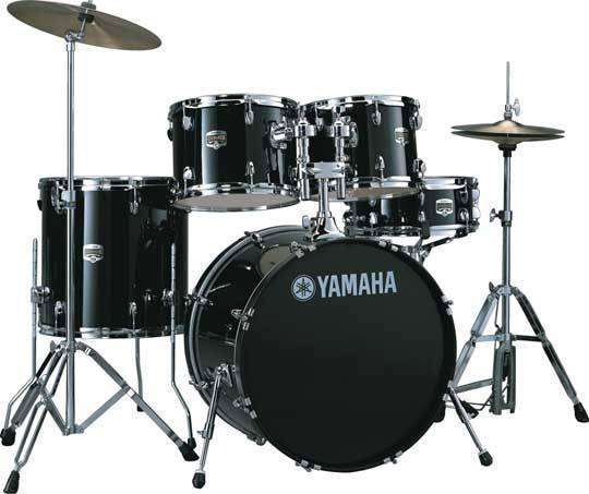 Yamaha gigmaker 5 piece drum kit with paiste cymbals for Yamaha dtx450k 5 piece electronic drum kit