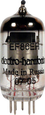 EF86 - Mini Pentode Preamp Tube