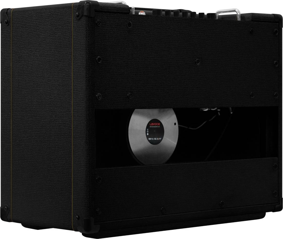 orange amplifiers tremlord 30 1x12 39 39 combo amplifier black long mcquade musical instruments. Black Bedroom Furniture Sets. Home Design Ideas