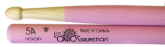 Los Cabos Drumsticks - 5A Hickory Pink Sticks