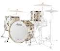 Ludwig Drums - Legacy Mahogany Diamond Flash Inlay - 3 Piece Shell Pack
