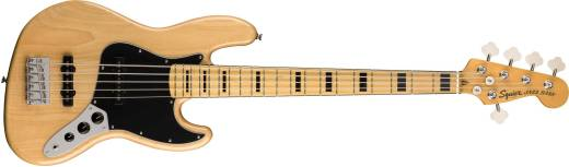 Classic Vibe '70s Jazz Bass V, Maple Fingerboard - Natural