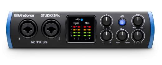 Studio 24C 2x2 USB-C Audio Interface