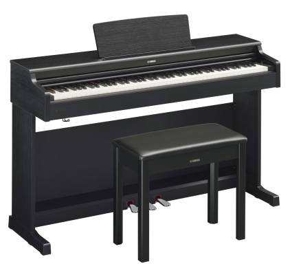 Arius YDP-164 Digital Piano w/Graded Hammer 3 Keyboard - Black