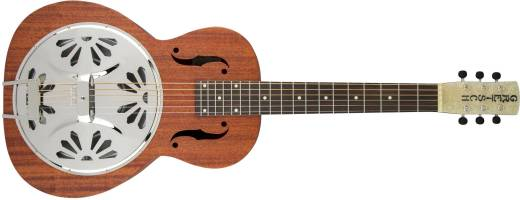 G9210 Boxcar Square-Neck, Mahogany Body Resonator Guitar - Natural