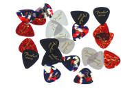 Fender - 351 Shape Classic Celluloid Picks - Mixed (24) Pack