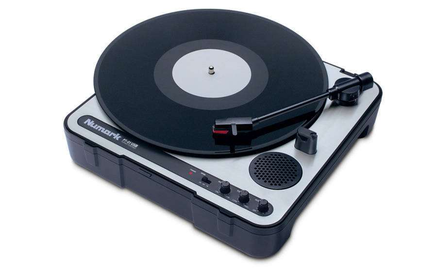 Numark Pt01usb Portable Turntable Long Amp Mcquade