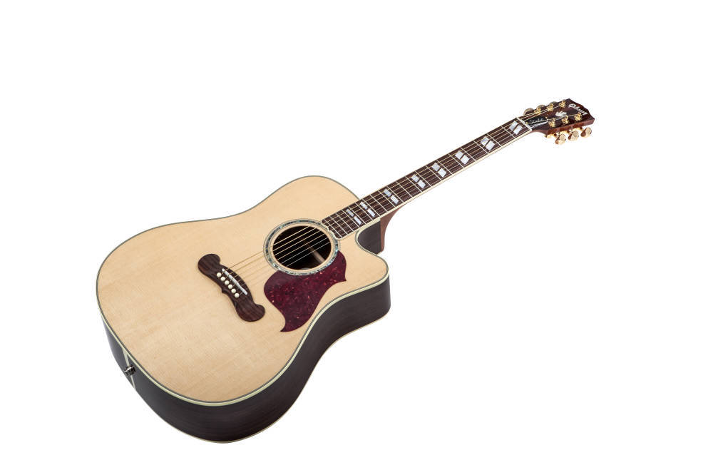 Gibson Songwriter Deluxe Studio Cutaway Acoustic Guitar Natural Finish Long Amp Mcquade