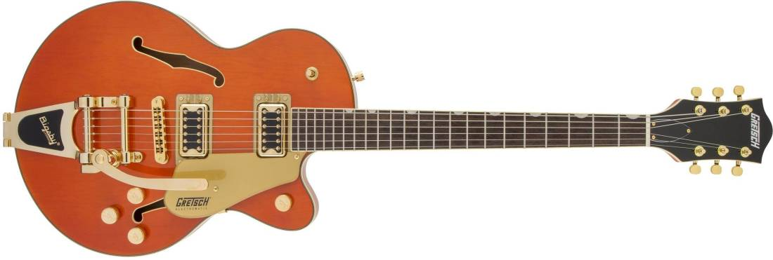 gretsch guitars g5655tg electromatic center block jr single cut with bigsby and gold hardware. Black Bedroom Furniture Sets. Home Design Ideas