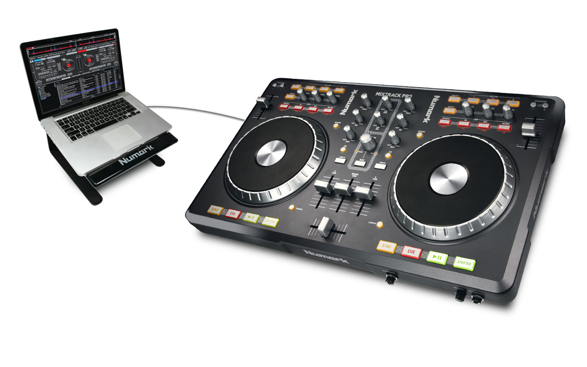 MixTrack Pro - USB DJ Software Controller with Virtual DJ