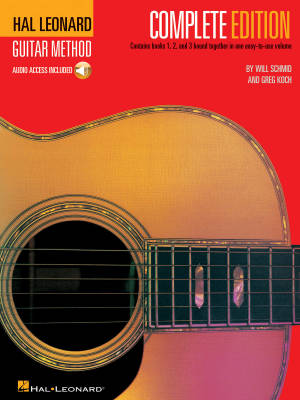 Hal Leonard Guitar Method, Second Edition - Complete Edition - Schmid/Koch - Book/Audio Online