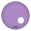 Remo - Powerstroke P3 Colortone Bass Drumhead w/ 5 Offset-Hole - Purple - 22