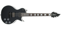 Jackson Guitars - USA Signature Marty Friedman MF-1, Rosewood Fingerboard w/Case - Gloss Black with White Bevels