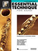 Hal Leonard - Essential Technique for Band (Intermediate to Advanced Studies) Book 3 - Bass Clarinet - Book/Media Online (EEi)