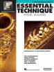Hal Leonard - Essential Technique for Band (Intermediate to Advanced Studies) Book 3 - Alto Saxophone - Book/Media Online (EEi)