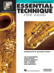 Hal Leonard - Essential Technique for Band (Intermediate to Advanced Studies) Book 3 - Tenor Saxophone - Book/Media Online (EEi)